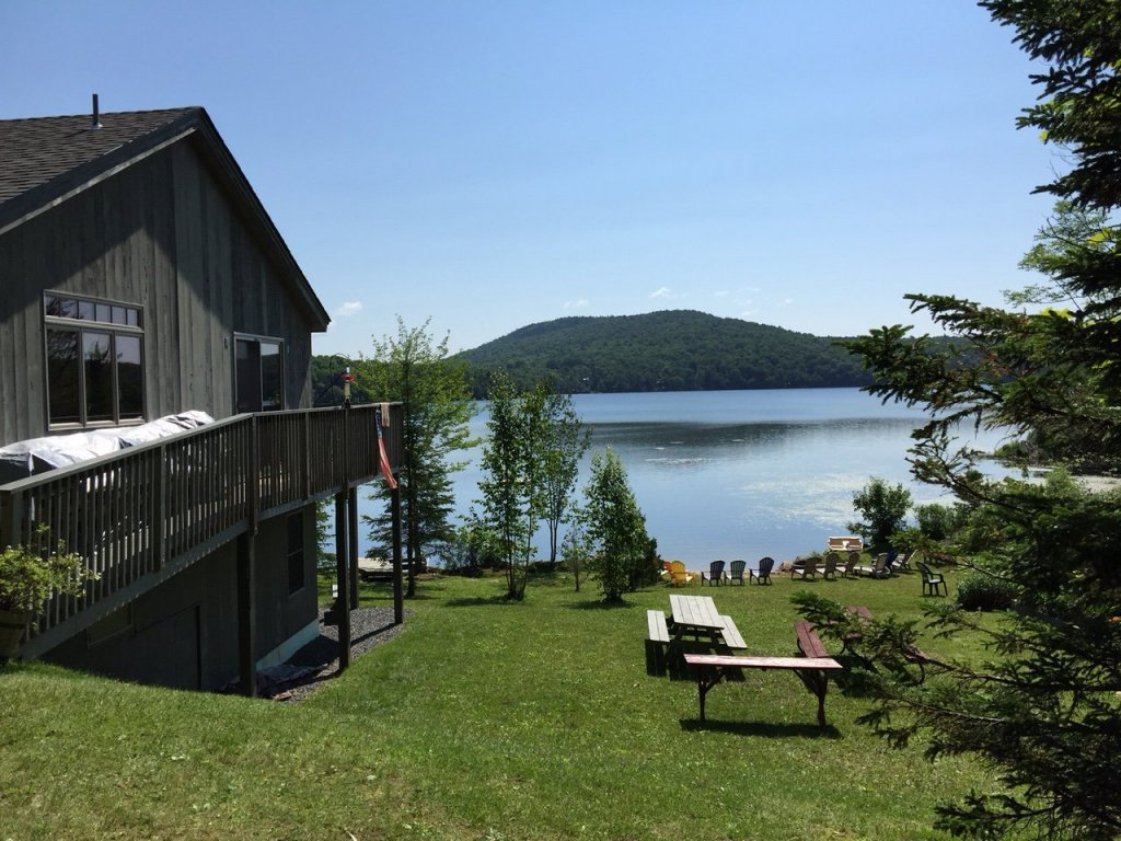 hearthside waterfront vacation home rental cabin