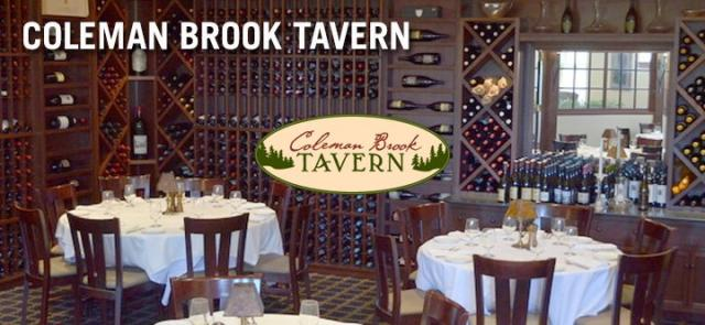 Coleman Brook Tavern is located in the Jackson Gore Inn