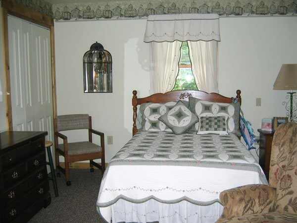 Master Bedroom has full bath, sitting room with daybed and desk. Lakeview? YES!