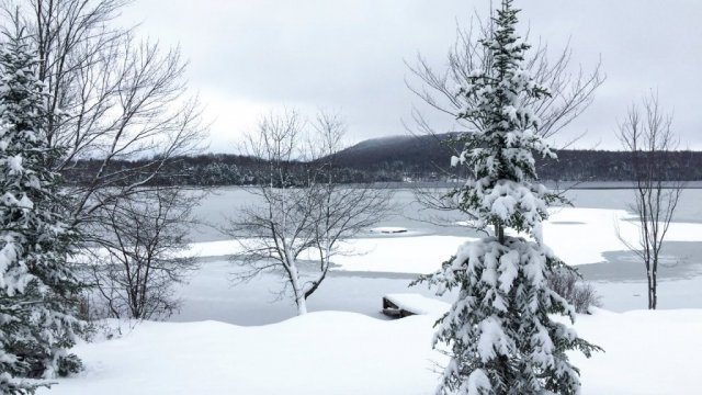 Hearthside Vermont Rental - Lake Ninevah - Thanksgiving 2014