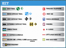 Killing trail map key